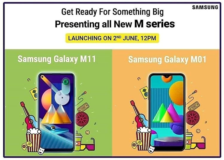 Galaxy M01 Galaxy M11 launch - AndroidPure