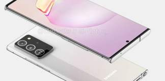 Samsung Galaxy Note 20 Plus leaked renders