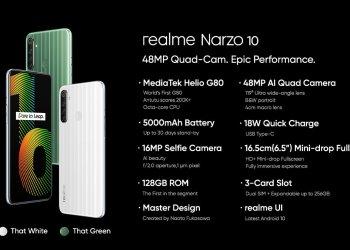 Realme Narzo 10 Specs