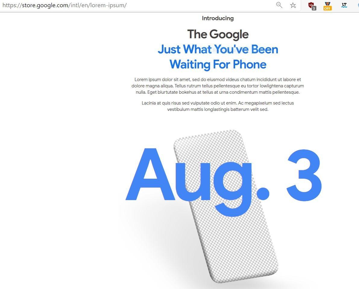 Google Pixel 4a launch date confirmed