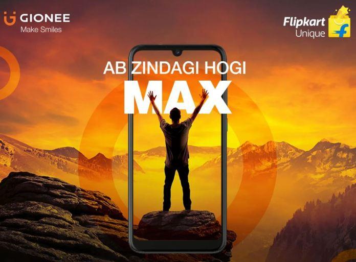 Gionee max design