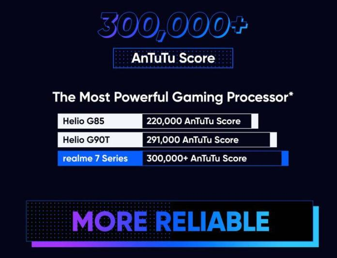 Realme 7 specs world's first processor mediatek helio g series