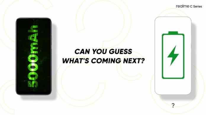 Realme C12 and Realme c15 battery