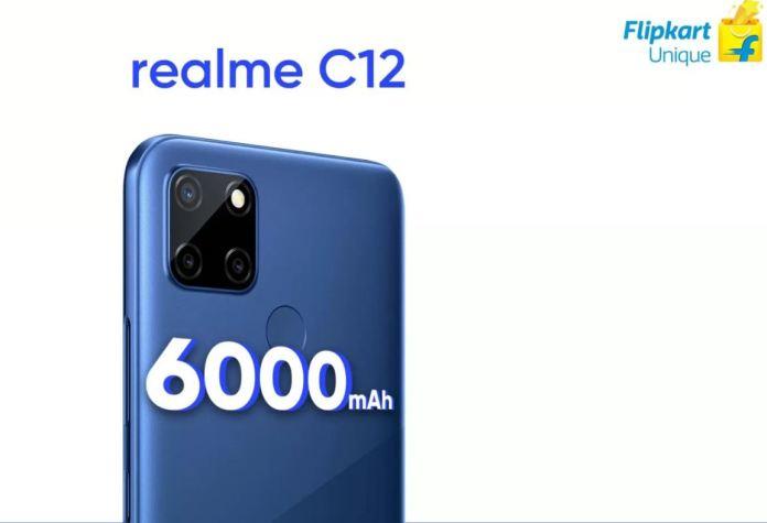 Realme c12 design confirmed