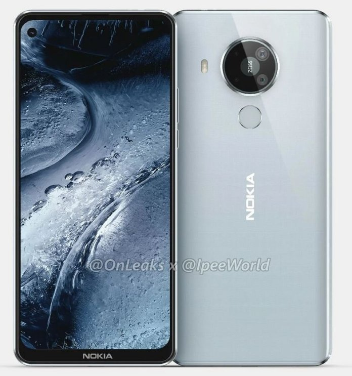 Nokia 7.3 leaked unofficial render
