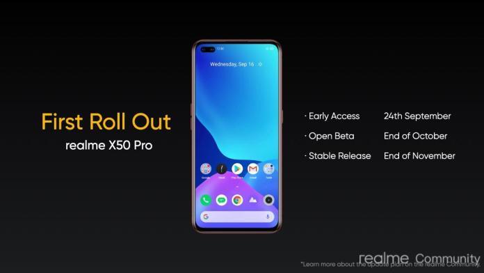 Realme UI 2.0 Update for Realme X50 Pro