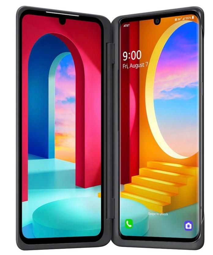 LG Velvet Dual Screen mode