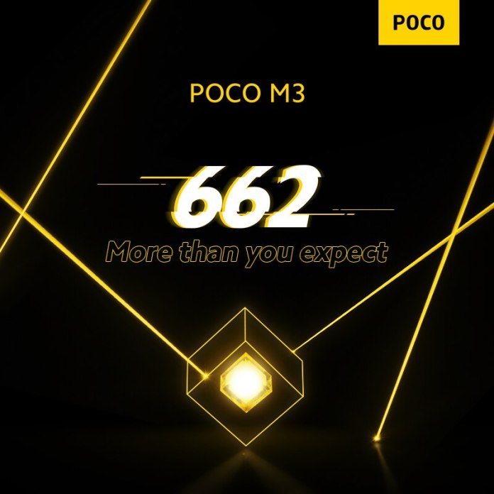 New poco m3 snapdragon 662 mobile phone 6 53 display