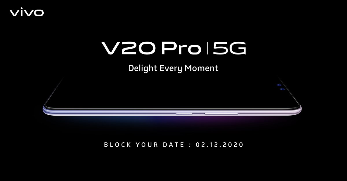 Vivo V20 Pro India Launch Date