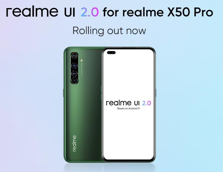 Android 11 Update For Realme X50 Pro Rolls Out To Users