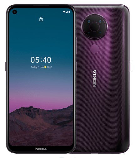 Nokia 5.4 Twilight Dusk