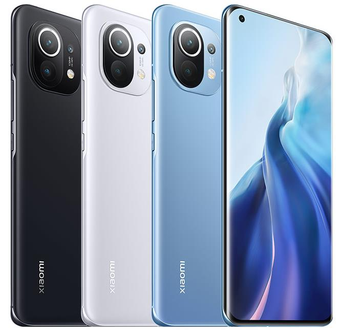 Xiaomi Mi 11 official colours