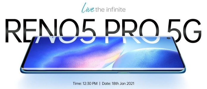 Oppo reno5 pro 5g india launch date