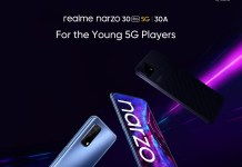 Realme Narzo 30 Pro and Narzo 30A launch date