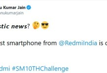 Redmi Note 10 India launch teased