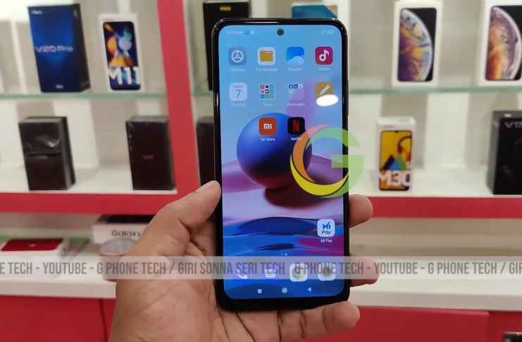 Redmi Note 10 leaked display design