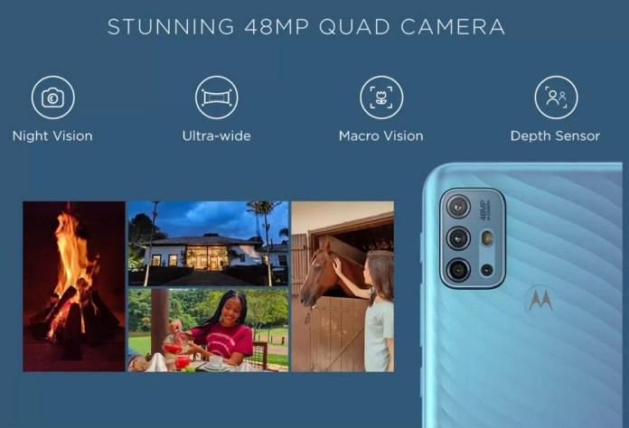 Moto G10 Power cameras
