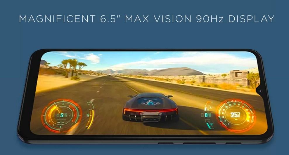 Moto G30 display