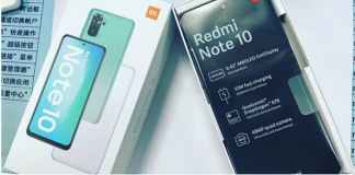 leaked Redmi Note 10 real life photo