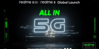 Realme 8 5G launch date