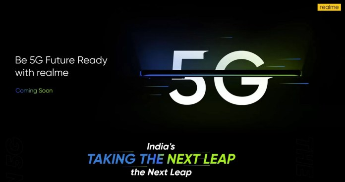 Realme 8 5G teaser