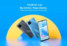 Realme C20 India