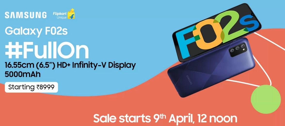 Samsung Galaxy F02s price in India