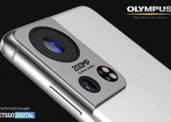 Samsung Galaxy S22 renders 200MP olympus camera