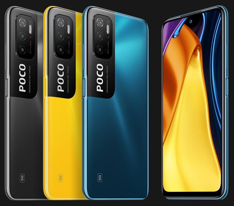 Poco M3 Pro 5G colourways