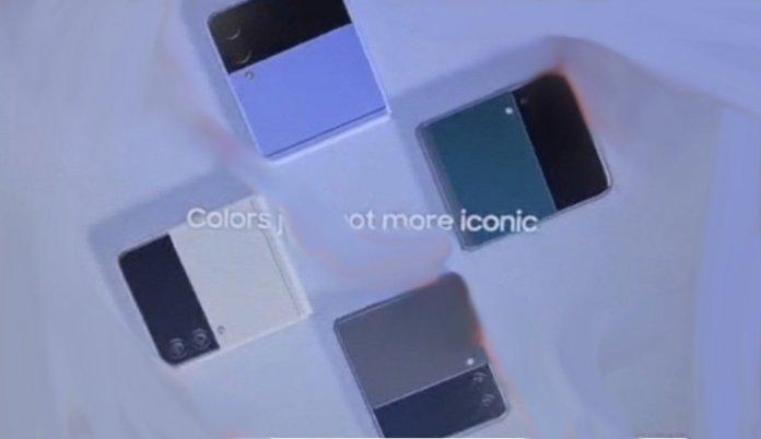 Samsung Galaxy Z Flip3 colours