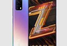 iQOO Z3 5G Cyber Blue