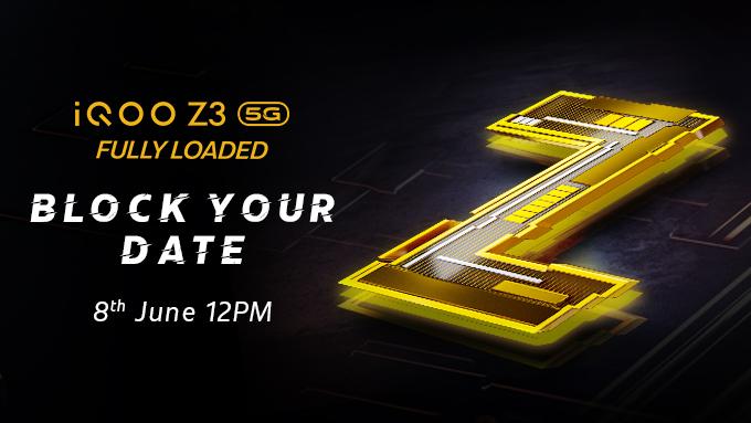 iQOO Z3 5g India launch date