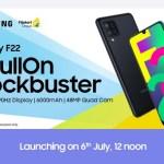 Samsung Galaxy F22 India Launch Date