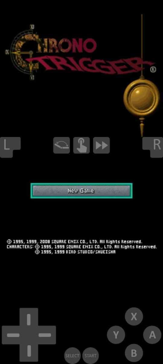MelonDS emulator portait mode