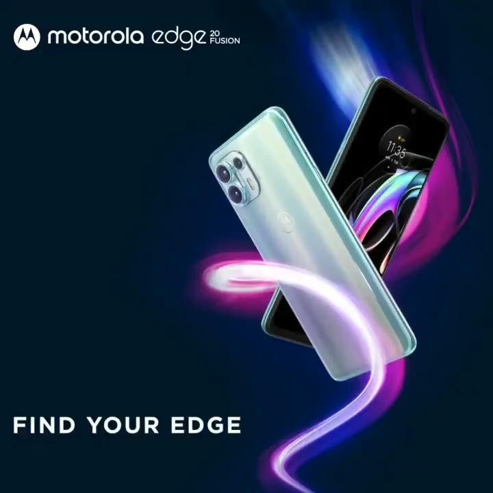 Motorola Moto Edge 20 Fusion India launch
