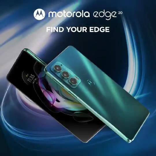 Motorola Moto Edge 20 India launch