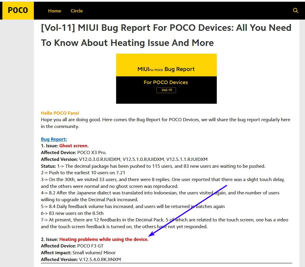 Poco F3 GT Heating Issue