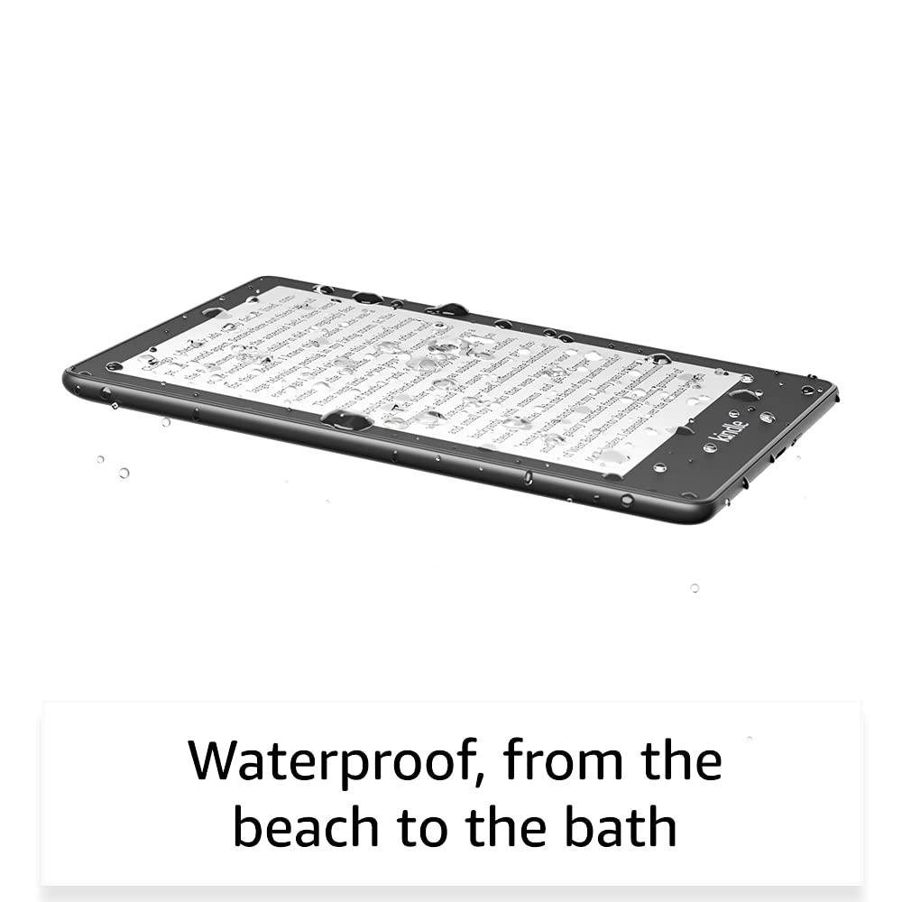 Kindle Paperwhite 11th gen waterproof design