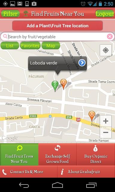 cvcv Grabafruit Aplicatie Android De Social Bartering