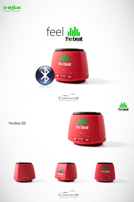 "ed Boxe Wireless ""The Beat"" De La E-Boda"