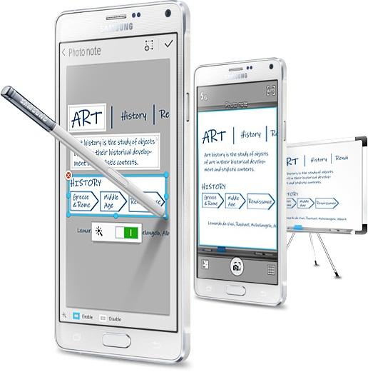 02355555489tu gpiodahvn Samsung Galaxy Note 4, Evolutie Si Functii Noi