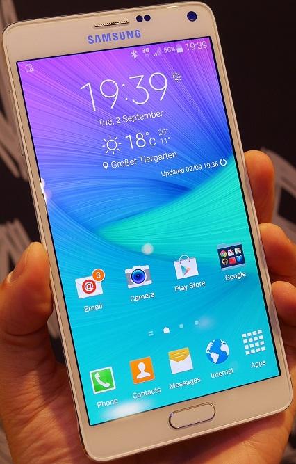 cnr9y w;l Samsung Galaxy Note 4, Evolutie Si Functii Noi
