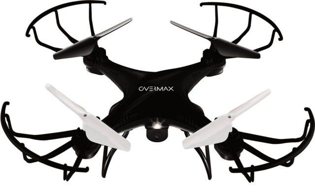 OV-X-BeeDrone_front(black) X-Bee Drone 3.1, drona ieftina cu camera video de la Overmax