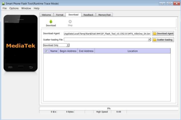 12erjehtrss Rescriere firmware Allview P6 Life cu SP Flash Tool