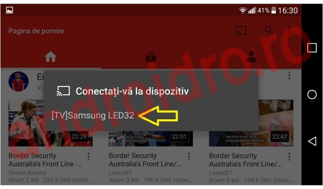 222fgcxfezsdx Cum conectezi un telefon la un Smart TV pentru vizualizare pe YouTube