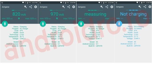ggg Super aplicatie Android ce-ti arata amperajul incarcatorului in timp real