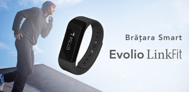 tt Produs nou - bratara fitness Smart Evolio LinkFit cu bluetooth