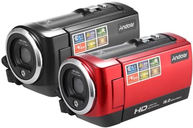 45 Andoer Mini, camera video clasica cu filmare HD si pret mic