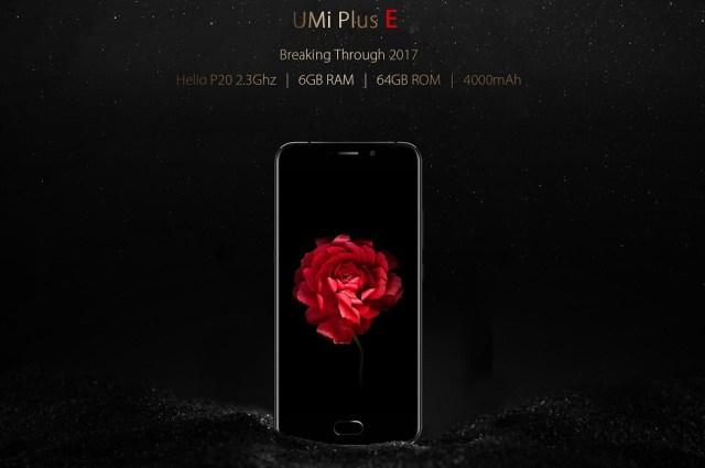 err UMi Plus E - anuntat oficial, vine cu super specificatii la pret bun!