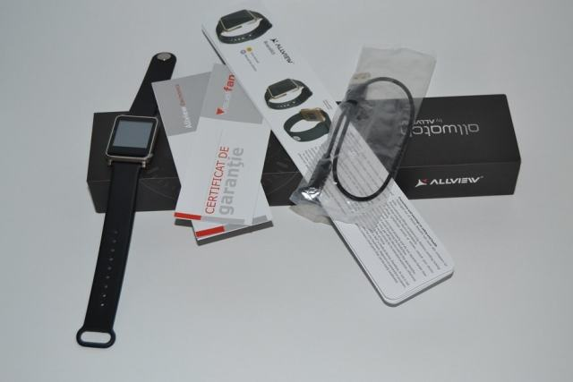 Allview Allwatch (smartwatch) unboxing si scurt review